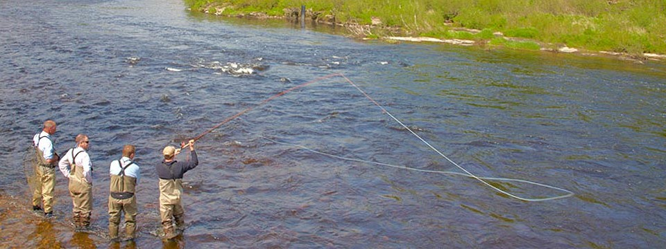 Sportfish 2 Day Spring Spey Casting Course on the River Towy