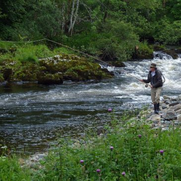 Fishing Milton of Drimmie (River Ericht)