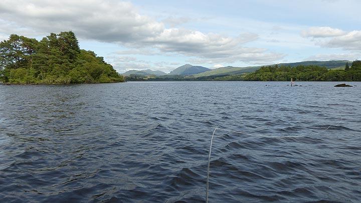 Loch Awe Trout Fishing